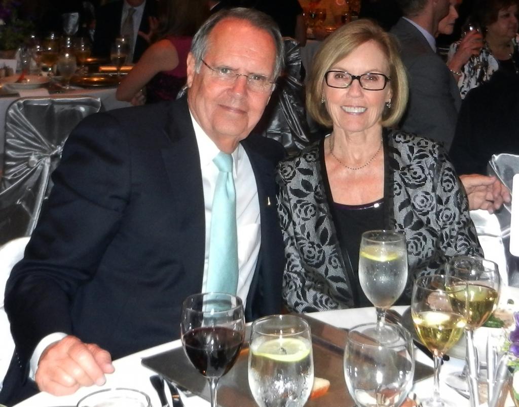 Al and Janet Jones at CHRISTUS Spohn Health System Lyceum.