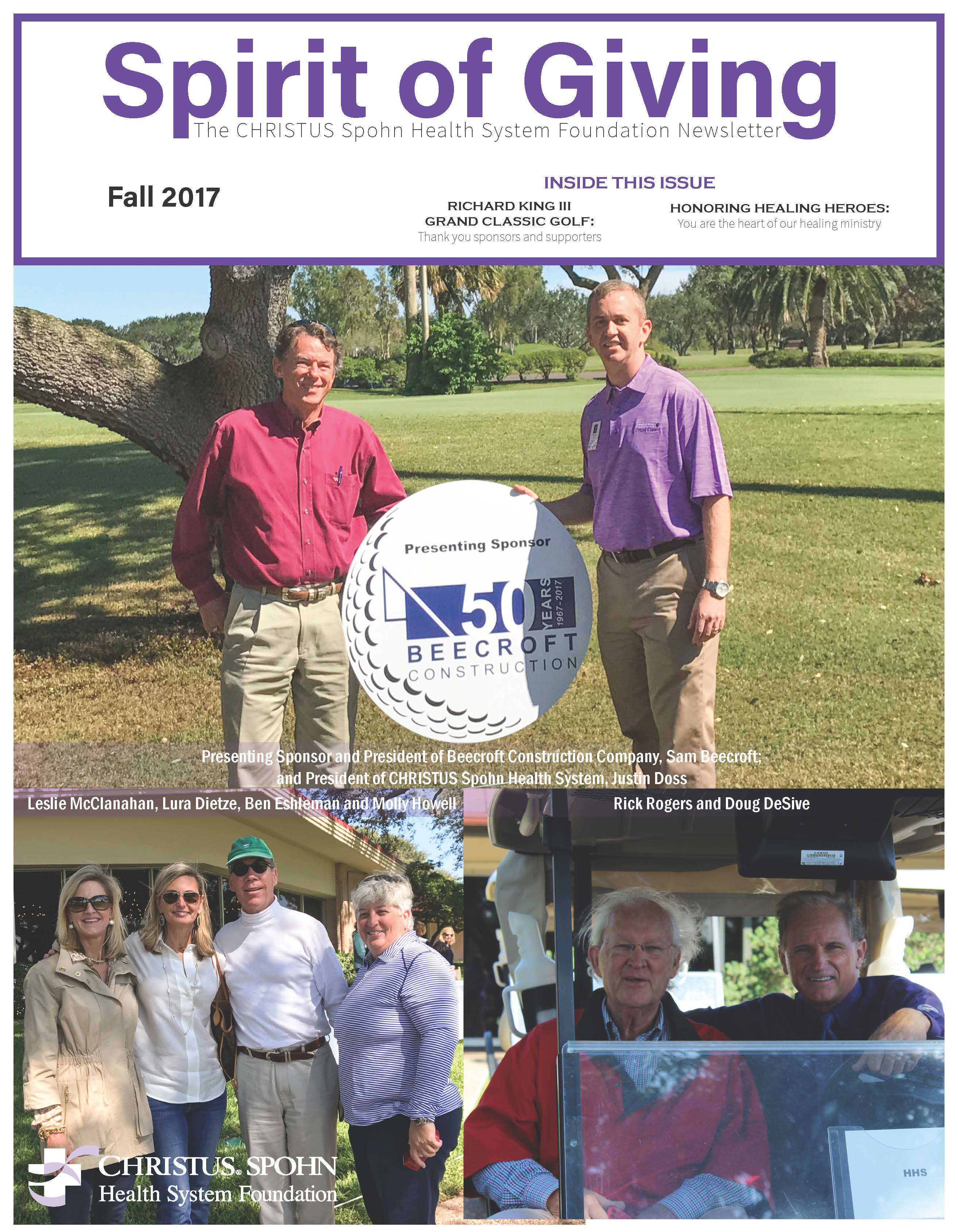 Newsletter Cover Fall 2017