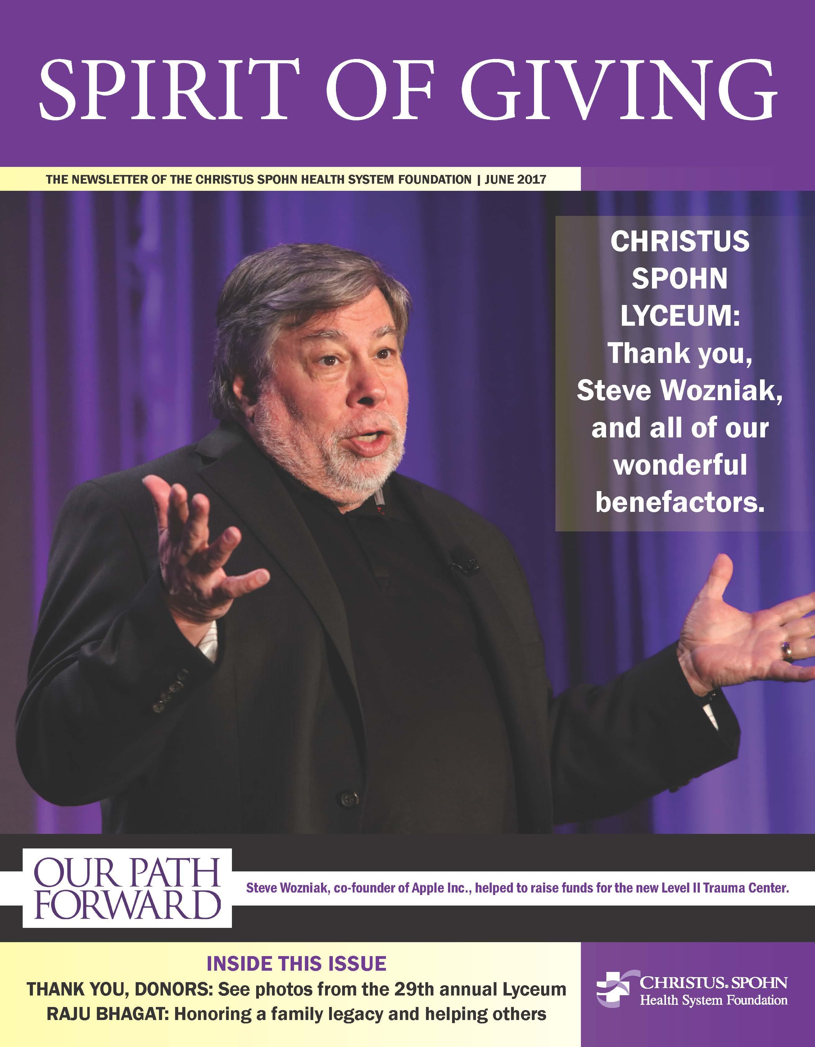 Newsletter Cover June 2017