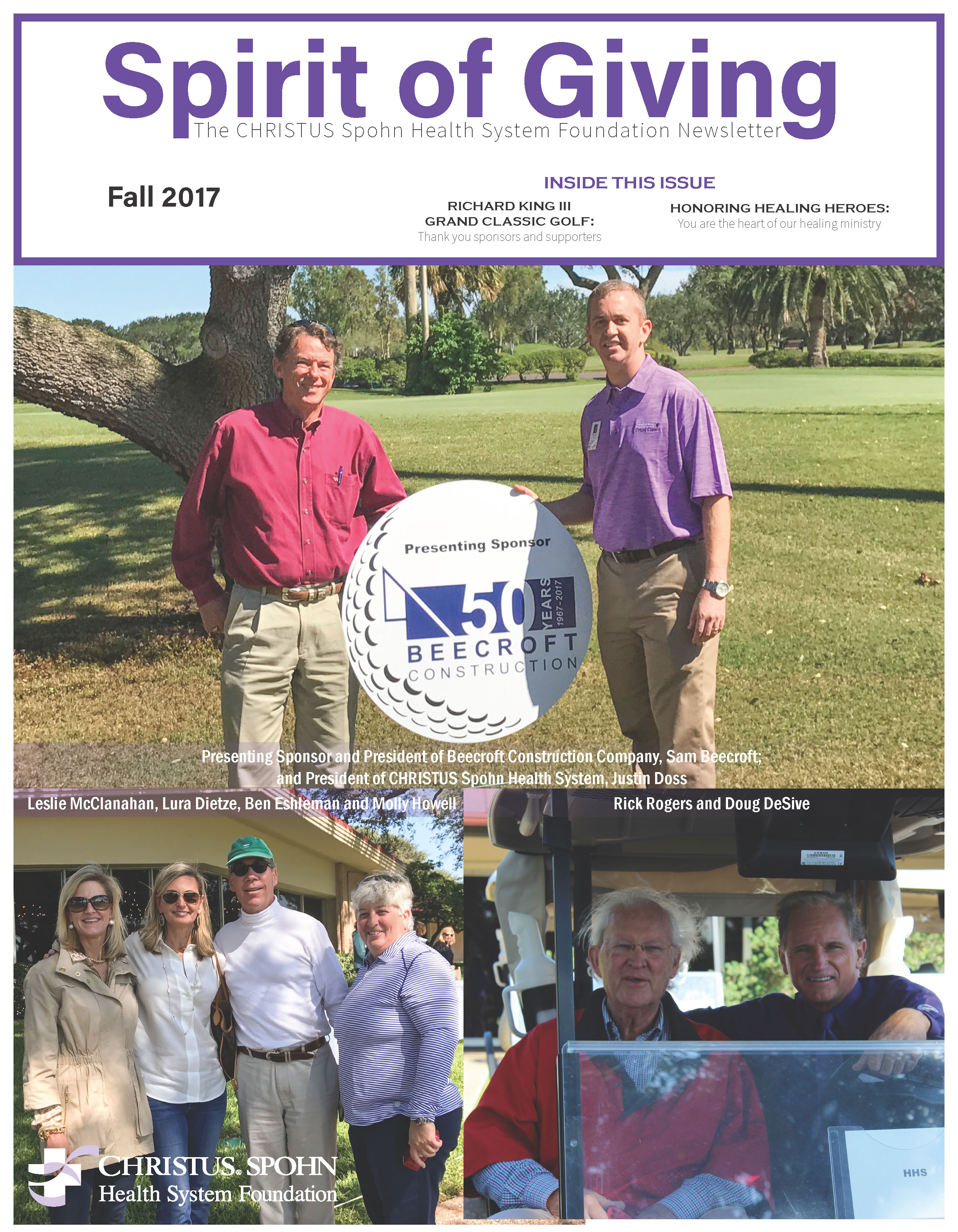 Newsletter Cover Photo